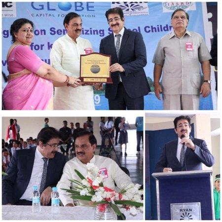 ICMEI Sensitizes School Children on Clean Yamuna