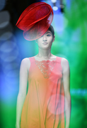 Hat for Zimmerli show in Shanghai