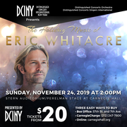 The Holiday Music of Eric Whitacre