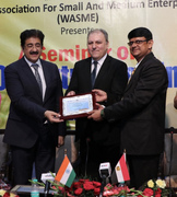 Sandeep Marwah Honored by WASME