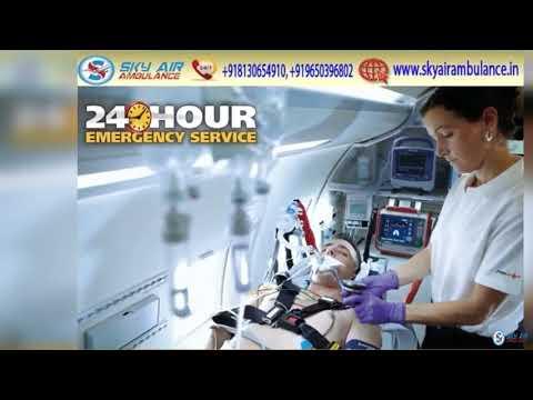 Choose World Level and Hi tech Air Ambulance from Patna
