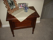Commode Drop Front - Chamber Pot Cabinet 012