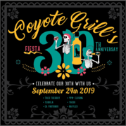 Coyote Grill 30 Year Anniversary Party!