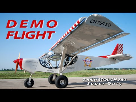 Demo flight: Zenith STOL CH 750 Super Duty