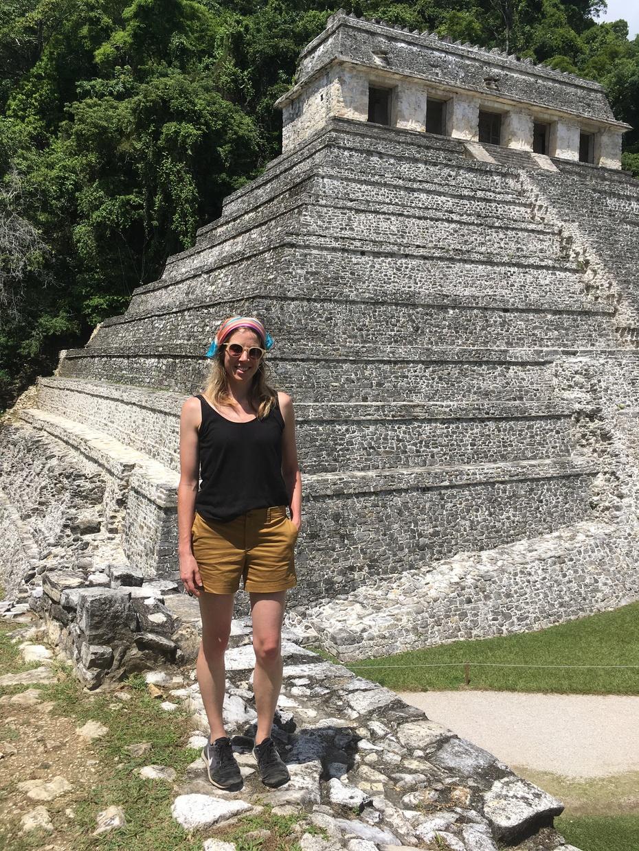 Visiting Palenque