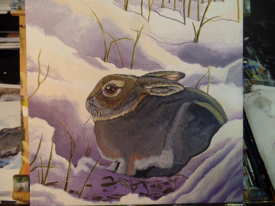 WIP Snow bunny