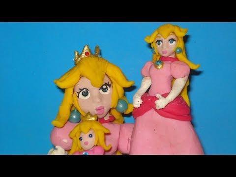 Princess Peach CLAY animation