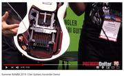 ciarra  bending travel full working electric guitar