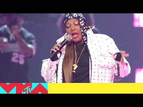 Queen Latifah, Redman, Fetty Wap, Naughty By Nature & Wyclef Jean Perform a Medley | 2019 VMAs