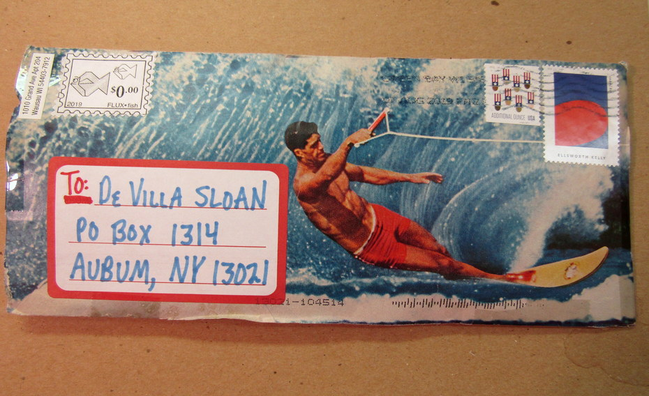 Mail art by Melissa Wand (Wausau, Wisconsin, USA)