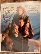 Warwick Davis and Val Kilmer