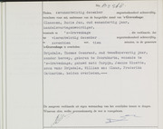 Thomas Coenrad Drijsdale  certificate