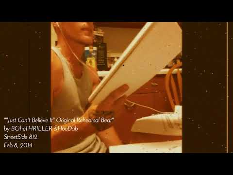 """StreetSide production's& C-BuZ Record's collab reel """"Just Can't Believe It"""" Rehearsal Instrumental"""
