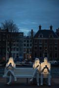 阿姆斯特丹燈火節:被光吞噬