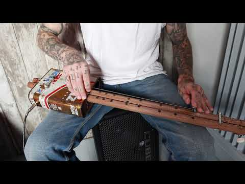 Gary O'slide - Cigar box Guitar Can Blues Western