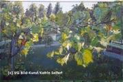 Italienischer Wein am Schloss Charlottenhof