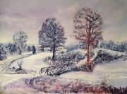 Winter am Maschinenteich