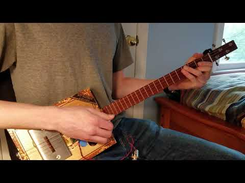 Crocbite Cigar Box Guitar Pickup Demo