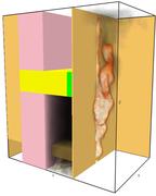 FDS simulation