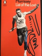 Morrissey Signed Book Cover. From Book Soup.