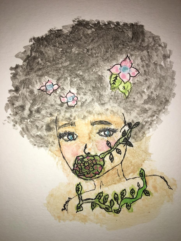 Garden Woman by yanna