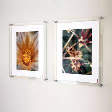 Acrylic poster frames