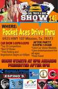 POCKET ACES CAR, TRUCK & BIKE SHOW AND PARTY
