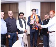 Sandeep Marwah Appreciated For Social Involvement