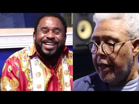 Bishop Mb Jefferson  talks with Bishop Rance Allen August 2019