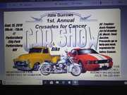 1st ANNUAL CRUSADES FOR CANCER CAR SHOW