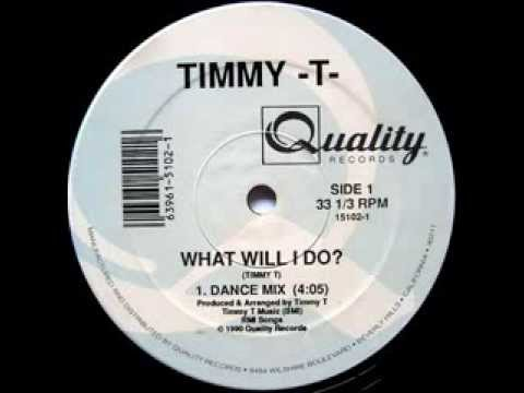 Timmy-T - What Will I Do (Dance Mix)