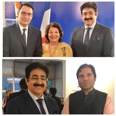 AAFT Member Aruna Vasudev Honored by French Government