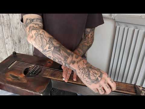 Gary O'slide - New Guitar Weissenborn Custom