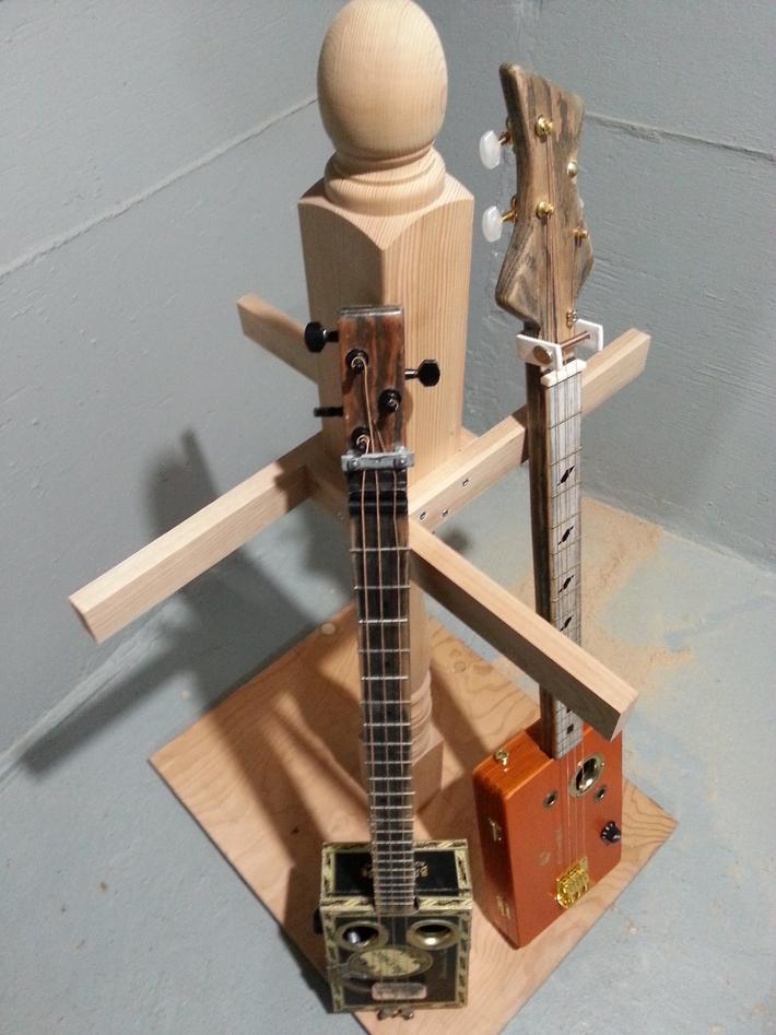 Custom guitar stand