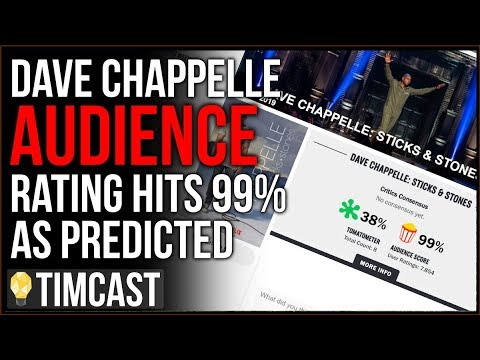 Dave Chappelle Gets 99% From Audience On Rotten Tomatoes, Media Has Become A Far Left Echo Chamber