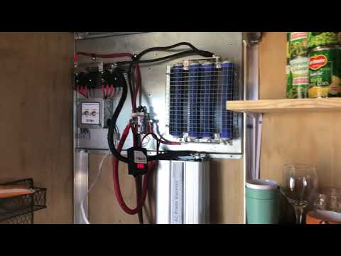 Off-grid Electric Vehicle Charging Station Pilot Project - Week One