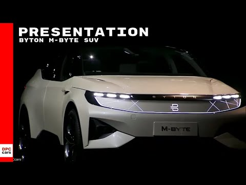 Byton M Byte SUV Electric Vehicle Presentation At CES 2019