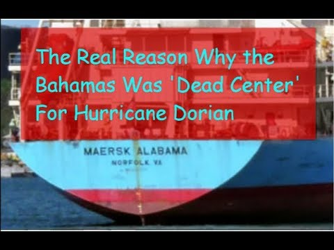 Manufactured Hurricane Doriaan MAN MADE