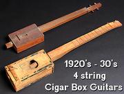 1920's Cigar Box Guitars