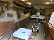 Painting well underway