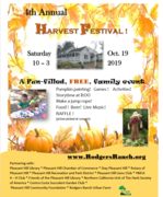 Harvest Festival at Rodgers Ranch Heritage Center