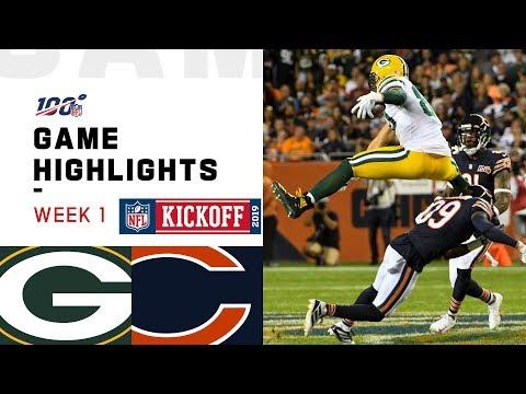 Packers vs. Bears Week 1 Highlights   NFL 2019