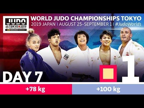 World Judo Championships 2019: Day 7 - Elimination