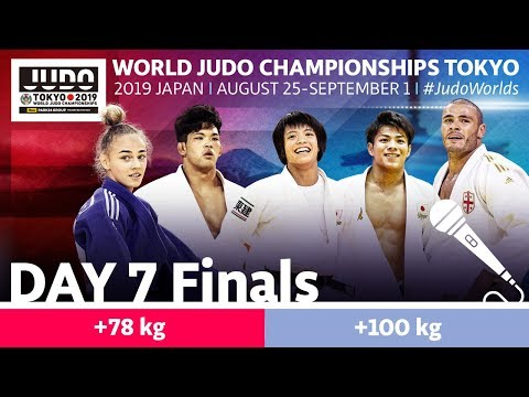 World Judo Championships 2019: Day 7 - Final Block
