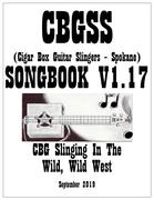 Cigar Box Guitar Slingers - Spokane Songbook