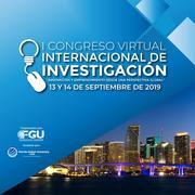 """""""Primer Congreso Virtual Internacional de Investigación 2019"""""""
