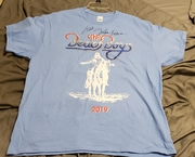 Mike love signed Beach Boys concert t-shirt