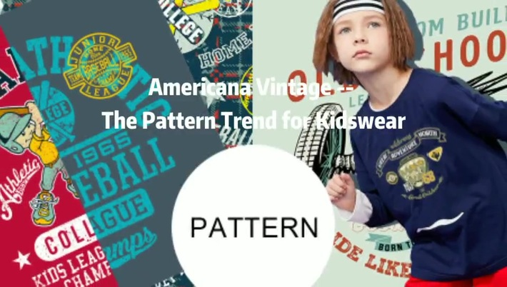 American Vintage -- The Pattern Trend for Kidswear | POP Fashion