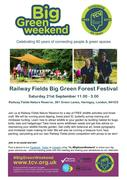 Railway Fields Big Green Forest Festival