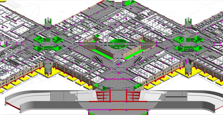 Coordinated MEP 3D Modeling with LOD 500 for a Hospital, Saudi Arabia